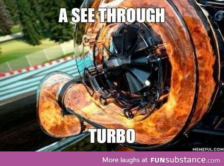 See through turbo