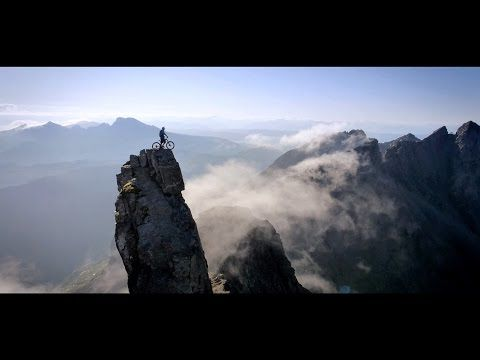 BMS stunt rider Danny Macaskill take death-defying ride to the ridge