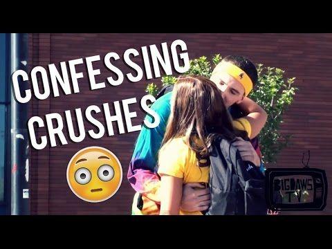 awkwardly confessing crushes prank