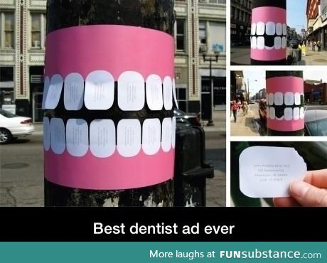 Dental ad