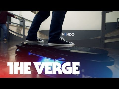 Someone made an actual hoverboard. Just though you should know.