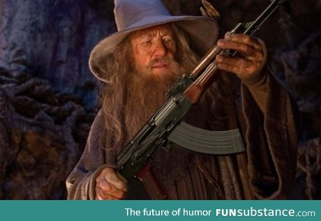 """Accidentally searched """"Gundalf"""""""