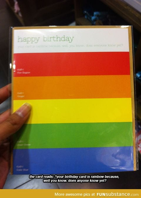 The card was from Typo if you want to get it for that special someone