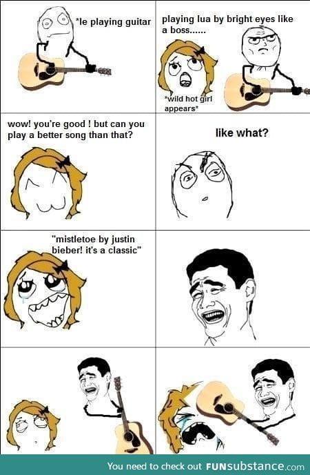 Mistletoe by Justin Bieber! It's a classic