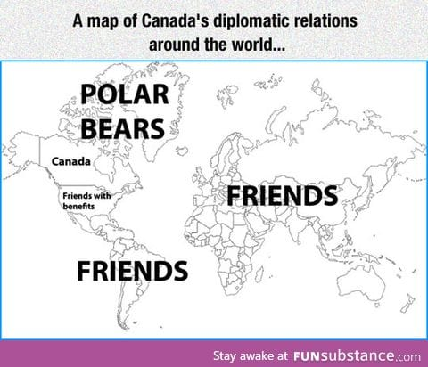 Canada's diplomatic relations