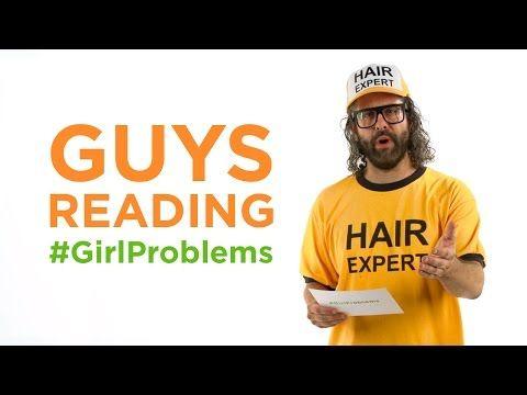 Guys reading #GirlProblems