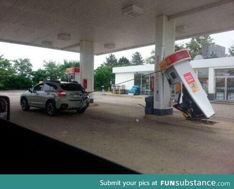 When you've got earphones in but forget and walk away from your laptop