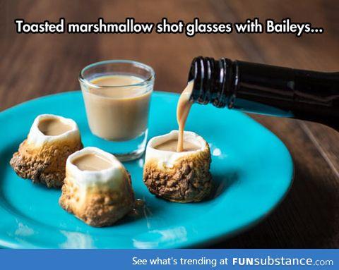 So I heard you like marshmallows and alcohol...