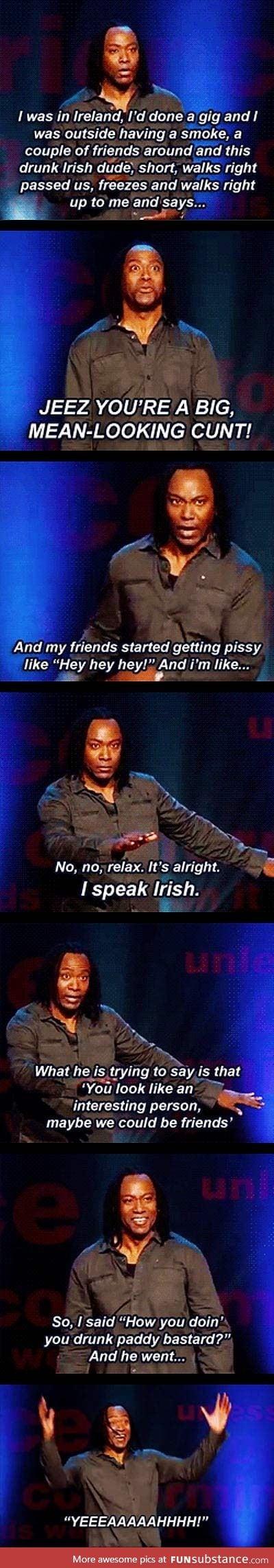 I thought that's how you speak Australian