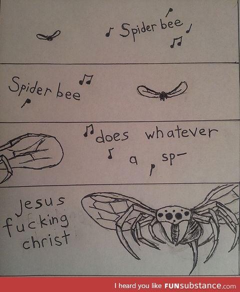 Spider-bee