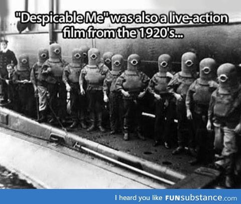 Despicable me is not new