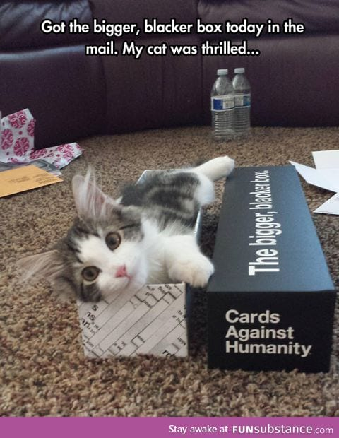 Cat against humanity?