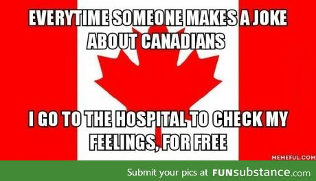 Canadians, eh?