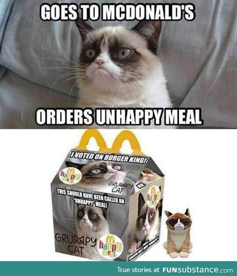 Grumpy meal