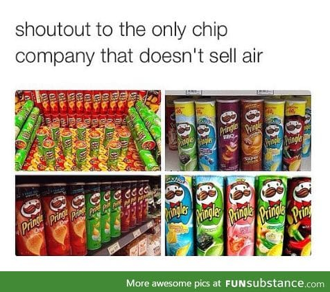 They're the only ones who don't sell air
