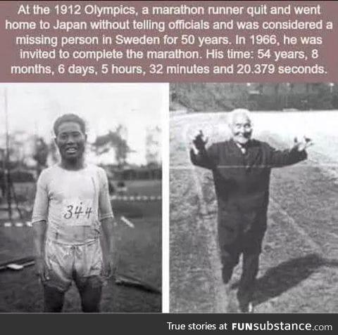 Longest ever marathon