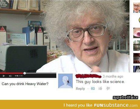In a science-y way