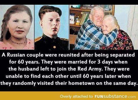 Never stop believing  in love.