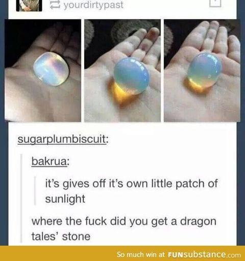 Dragon tales stone