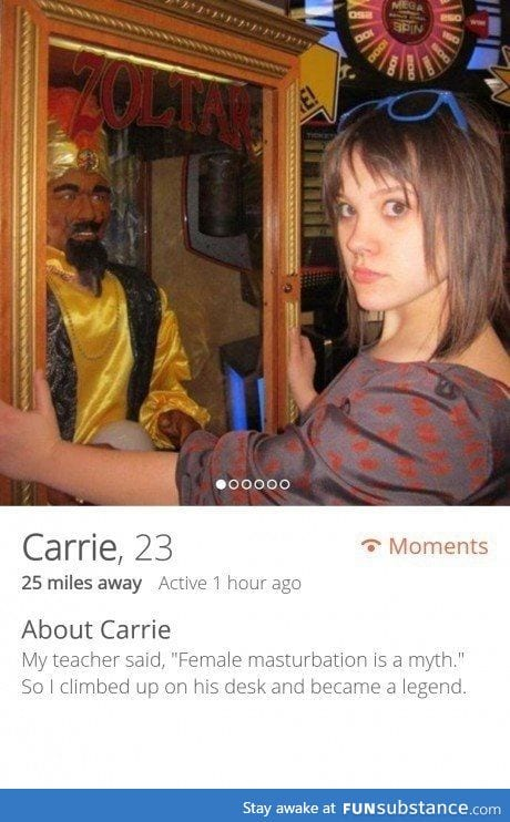 Carrie's Tinder