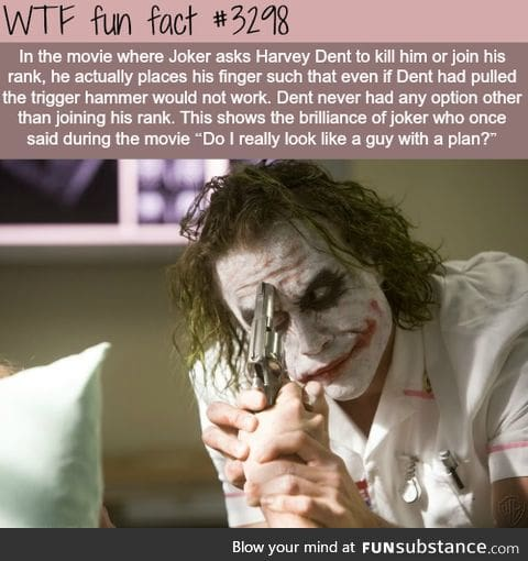 Why the joker is the best villian