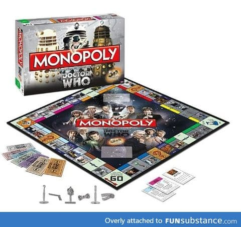 Dr. Who Monopoly set - collector's edition
