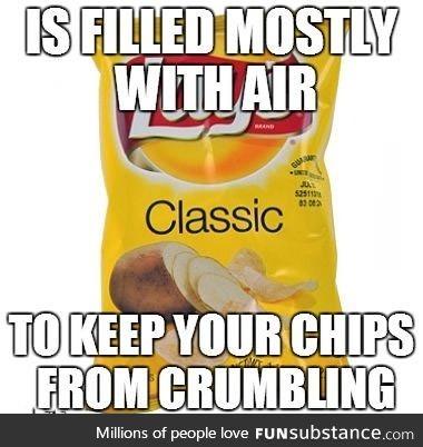 Misunderstood chip bag