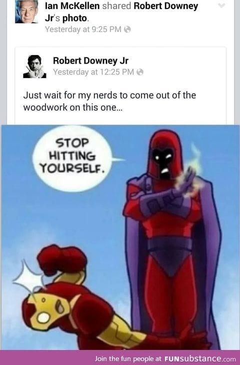 Oh magneto,