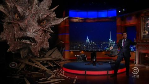 No title is worthy of thee, 'O great Colbert & Smaug!