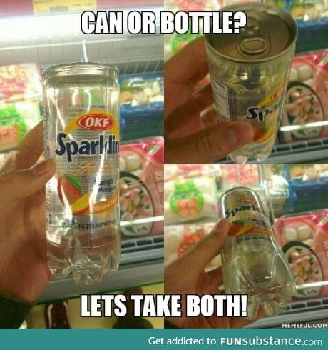 Can or bottle