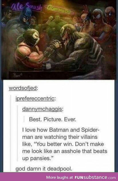 Deadpool FTW