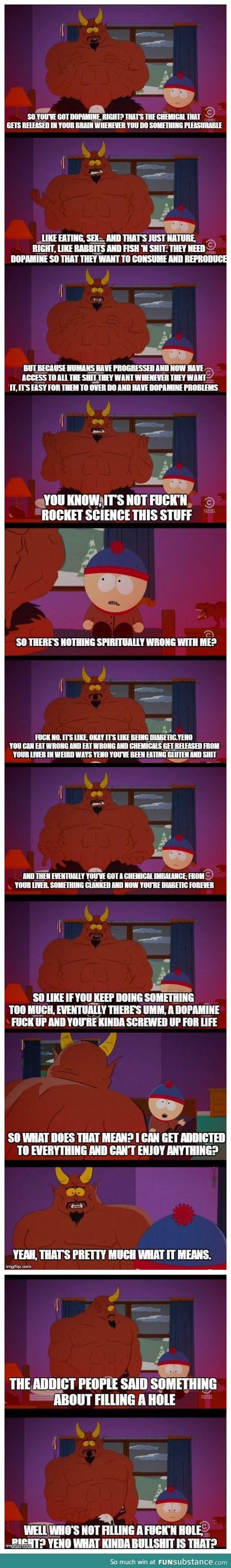 Satan on addiction