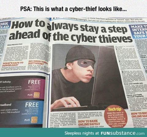 Beware of the cyber burglar