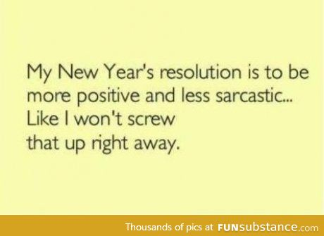 Wishing all the sarcastic people luck.