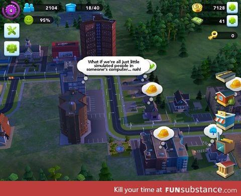 oh Sims *sigh*