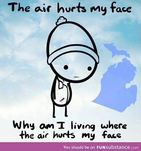 Michigan Isn't A Happy Place