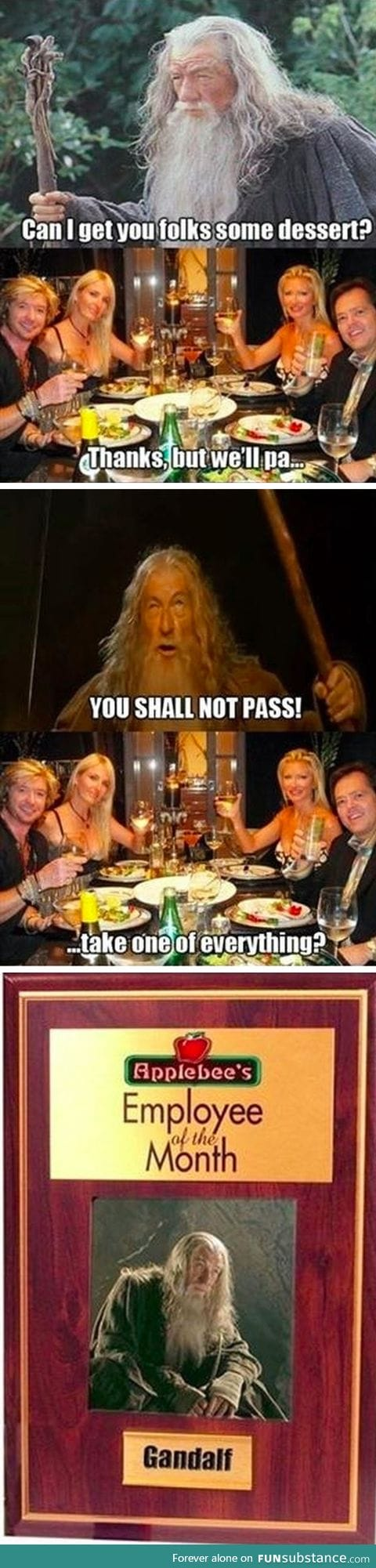 Gandalf, employee of the month