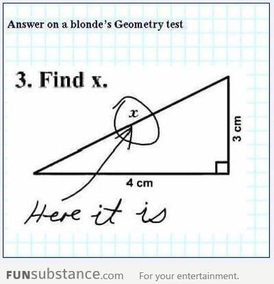 Blond math