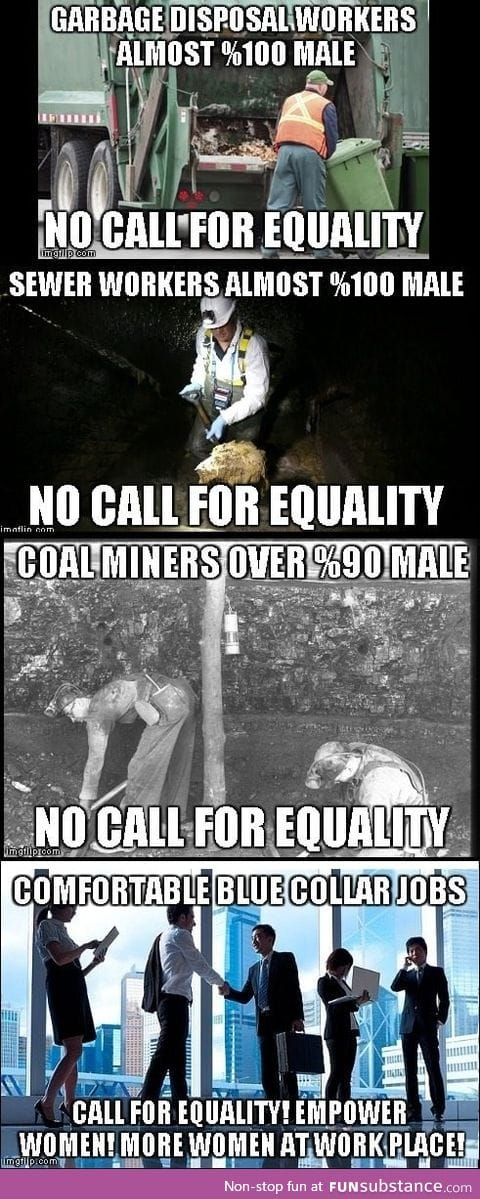 Feminists need to look at other jobs