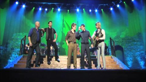 Hilarious drinking song performed by Celtic Thunder