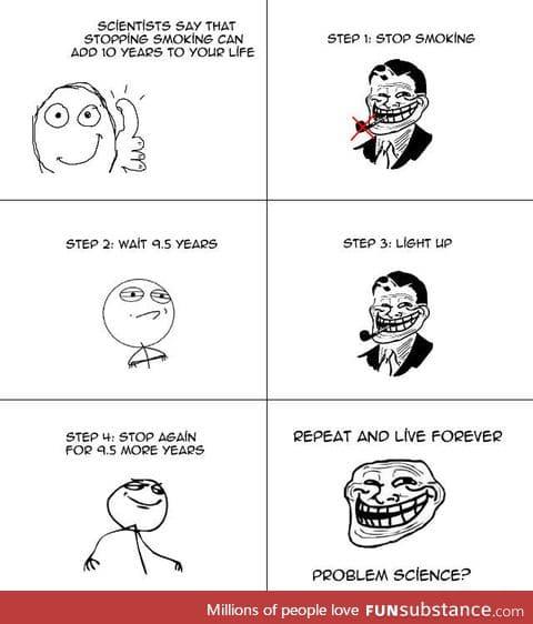 Smoking Science Troll