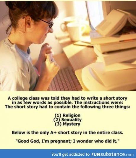 Short story like a boss