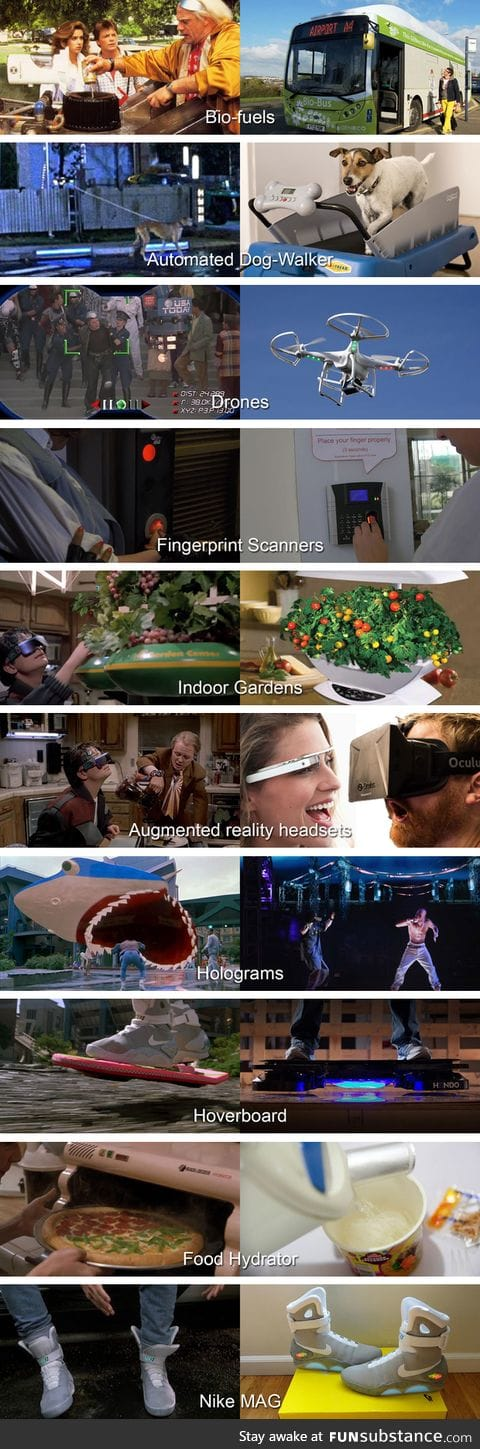 Back to the Future II: 2015 The Reality