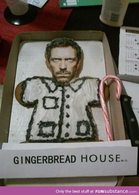 Gingerbread house for lazy people