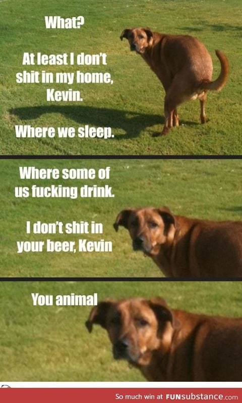 Seriously Kevin