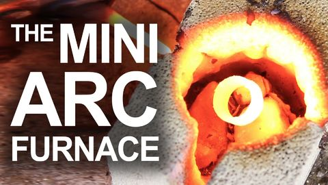 The Power of The Mini Arc Furnace..Because Science