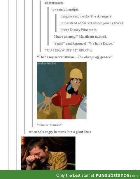 Ohh kuzco