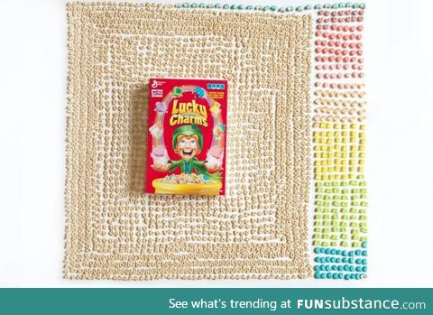 Contents of a Lucky Charms Box