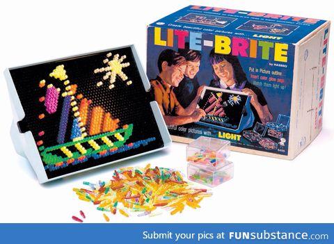 LiteBrites were my childhood.