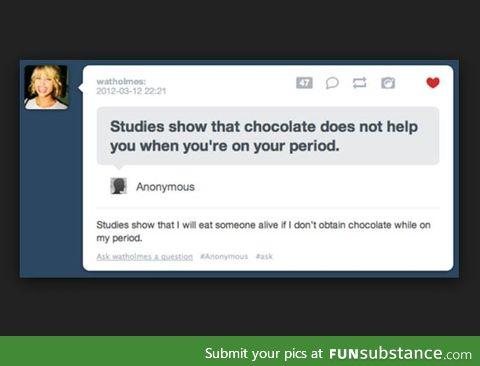 People on Tumblr are so sassy. I love sassy.